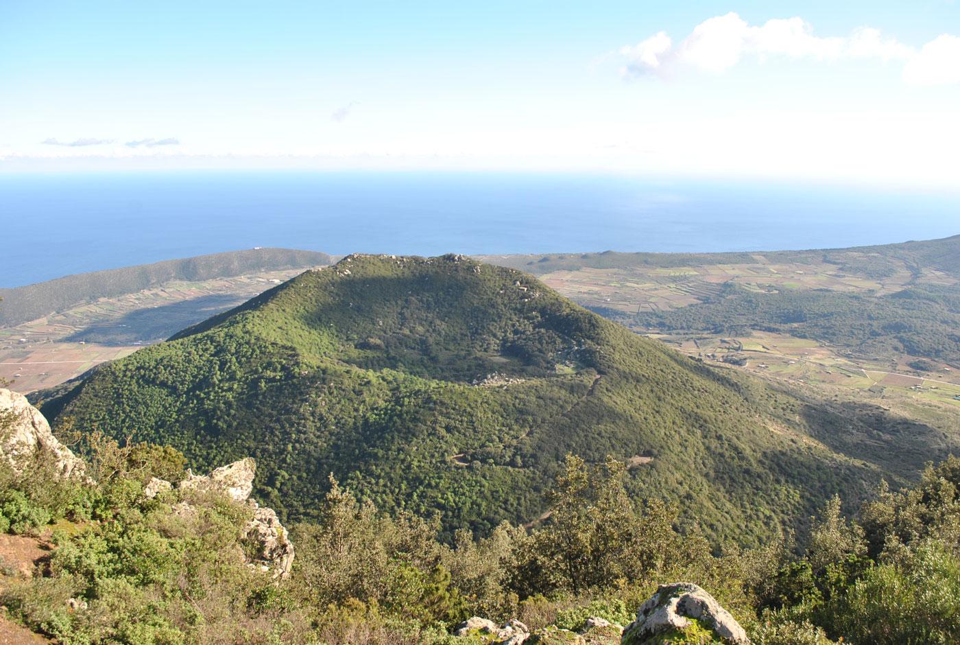 Pantelleria Mountain
