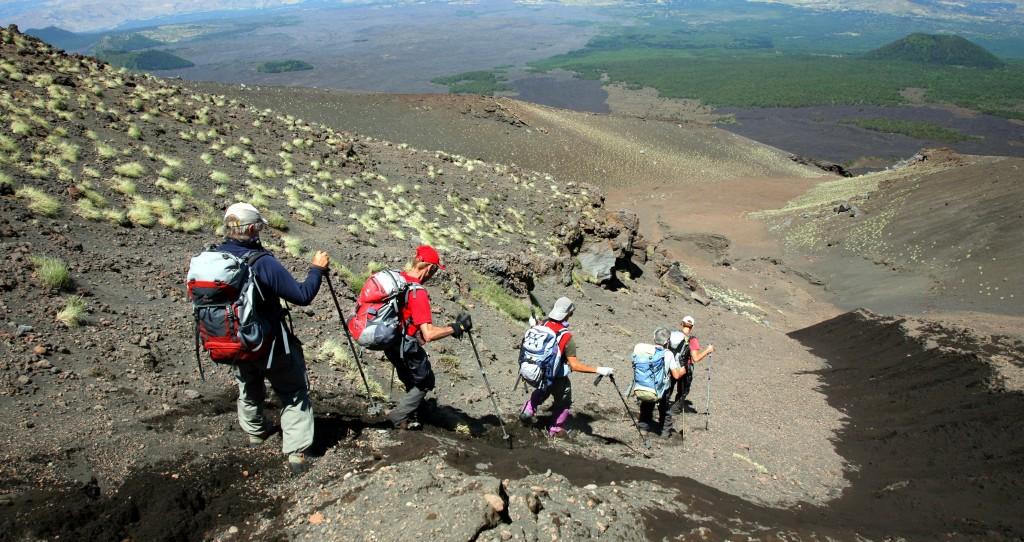 trekking sicily